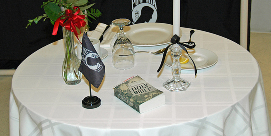 Outstanding Pow Mia Table Setting Angry Atheists Attack The Bible And Download Free Architecture Designs Intelgarnamadebymaigaardcom